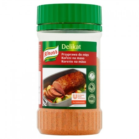 Knorr Приправа Делікат до М'яса 0,6 кг - Добре підібрані спеції є секретом смачного м'яса.