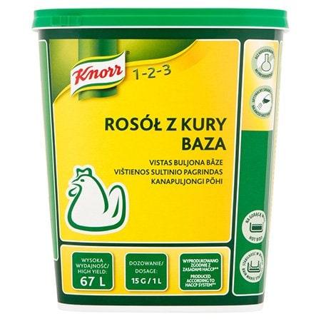 Knorr 1-2-3 Бульйон Курячий суха суміш 1 кг -