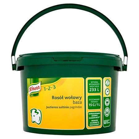Knorr 1-2-3 Бульйон Яловичий 3.5 кг